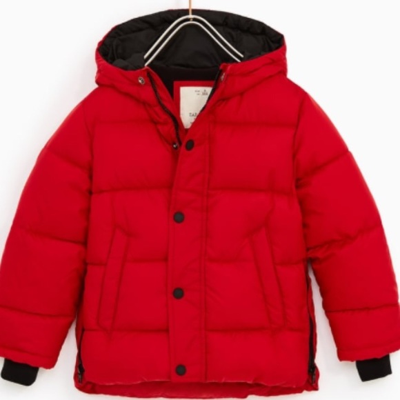 Official Website premium selection favorable price Zara Boys Puffer Jacket size 7